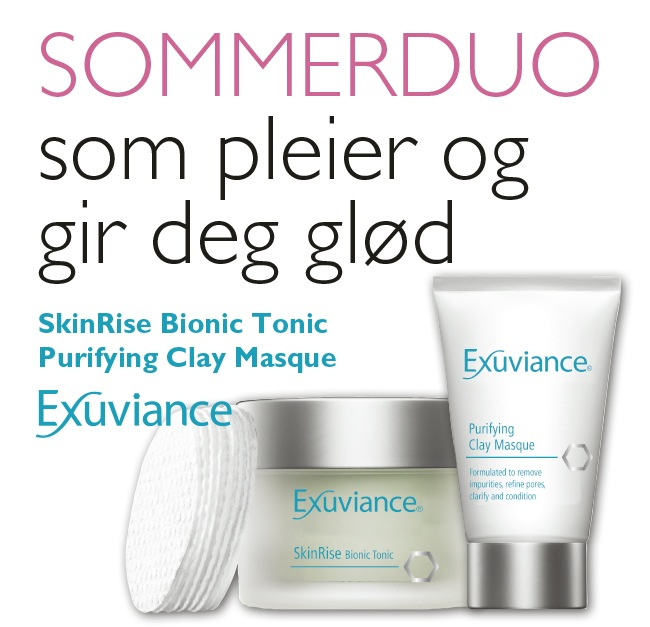 SOMMER DUO FRA EXUVIANCE!
